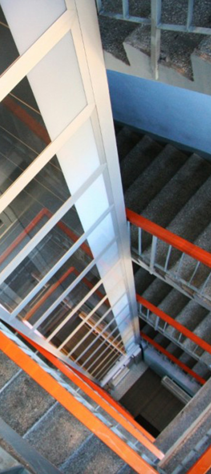 Steel Lift Shaft Structures