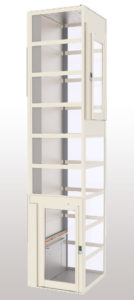Platform Lifts in Self-supporting Lift Shafts  SB200